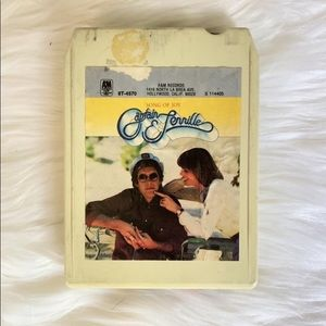 """Captain & Tennille 8 track tape """"Song of Joy"""""""